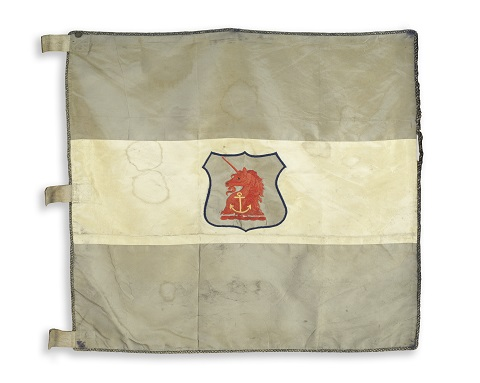Sledge flag from Shackleton's British Antarctic Expedition
