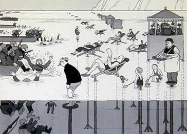 Heath Robinson cartoons saved for the nation