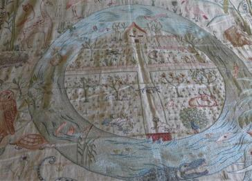 A significant new acquisition for Kelmscott Manor: 'The Homestead and the Forest' cot quilt